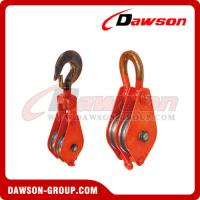 Buy cheap DAWSON DSPB-F2 Hook (Chain link) Series Closed Double Wheel Pulley  from China Manufacturer from wholesalers