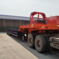 Buy cheap CIMC Low Bed Semi Trailer from wholesalers
