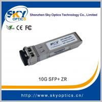 Buy cheap 10g sfp 80km optical transceiver 80km sfp zr module, fiber optic equipment 10g sfp+ from wholesalers