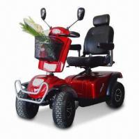 Buy cheap EEC Mobility Scooter with 800W Motor, 220kg Loading Capacity and Adjustable Flip-up Armrests from wholesalers