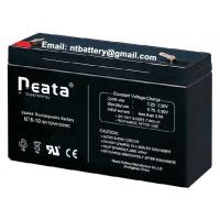 Buy cheap lead acid 14AH 6v rechargeable battery for emergency lighting from wholesalers