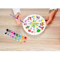 Buy cheap 9 Inch Plaster Clock Arts And Crafts Toys Real Function For Boys And Girls from wholesalers