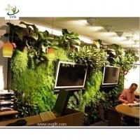 Buy cheap UVG GRW018 Vertical Wall Garden Planter Home Decoration Artificial Plant from wholesalers