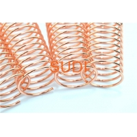 Buy cheap Metal Spiral Binding Coils In Stable Quality With Customized Measurements And Colors from wholesalers