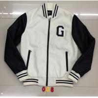 Buy cheap 008 Men's pu fashion baseball jacket coat stock from wholesalers