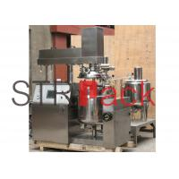Buy cheap Vacuum Emulsifying Mixer for 50L , emulsifier machine for ointment mixer from wholesalers
