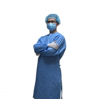 Buy cheap CE Approved Non Sterile Level 2 Medical Isolation Gown from wholesalers