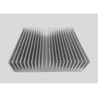 Buy cheap 16CM Height Precision CNC Machining Services Aluminum Alloy Heat Sinks 25CM Square Shaped from wholesalers