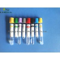 Buy cheap Glass PET Whole Blood Collection Tubes , Sodium Citrate Blood Tubes from wholesalers