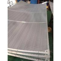 Buy cheap Supplier Factory Direct Perforated Wire Mesh Carbon Steel Perforated Metal from wholesalers