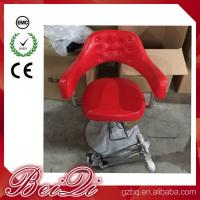Buy cheap Hair Salon Styling Chairs Used Barber Shop Equipment Antique Red Barber Chair product