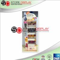 Buy cheap Health care easy assembling point of sales corrugated cardboard  display from wholesalers