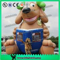 Buy cheap Custom Made Advertising Inflatable Animal Cartoon , Lovely Puppy 5M Inflatable Dog from wholesalers