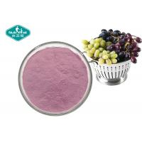 Buy cheap 100% Pure Natural Fruit And Vegetable Powder , Soluble Purple Grape Juice Powder from wholesalers