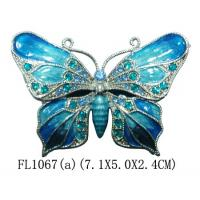 Buy cheap New Products Metal Butterfly Custom Jewelry Box from wholesalers