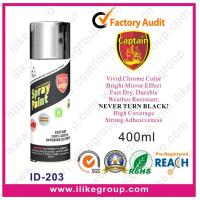 Buy cheap Captain Chrome Effect Spray Paint 400ML from wholesalers