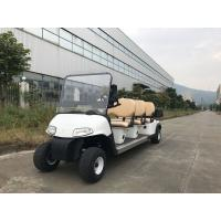 Buy cheap Installed With Plastic Cargo Box Small Electric Golf Carts 6 Seats Without Car Ceiling from wholesalers