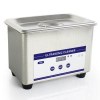 Buy cheap 0.8L Heated Ultrasonic Eyeglass Cleaner Stainless Steel Dental Ultrasonic Cleaner from wholesalers