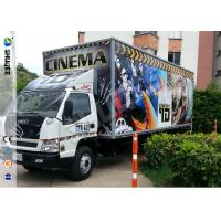 Buy cheap Popular Truck Mobile 7D Cinema System With 9 Black Leather Pneumstic Seats product