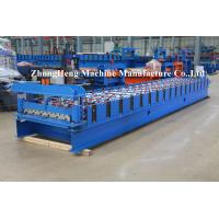 Buy cheap 0.3mm - 0.8mm Thickness Roof Panel / Sheet Forming Machine Double Layer SGS product