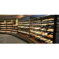 Buy cheap Large Capacity Bakery Bread Display , Bread Counter Display Simple Structure from wholesalers