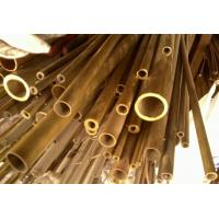 Buy cheap C44300 / CuZn28Sn1As / CZ111 Yellow Copper Pipes , Seamless Brass Tube from wholesalers