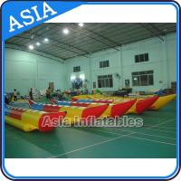 Buy cheap Water Sleds Banana Inflatable Boats Heavy Duty For 6 Passengers Water Games product