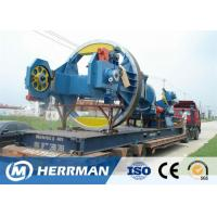 Buy cheap Drum Twister Type HV Cable Armouring Machine 130 Max Cabling OD Energy Efficient from wholesalers