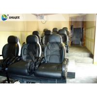 Buy cheap Black Luxury Seats 7d Simulator Cinema Motion Chair In Genuine Leather Material product