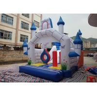 Buy cheap 0.55mm PVC Fire Resistant Outdoor Happy Hop Inflatable Jumping Castle from wholesalers