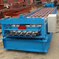 Buy cheap Hydraulic Cutting Steel Roll Forming Machine For Aluminium Panel Container Board from wholesalers