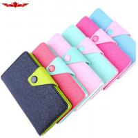Buy cheap Ultimate Fit HUAWEI ASCEND P6 PU Wallet Leather Cases Accurate Holes Multi Color from wholesalers