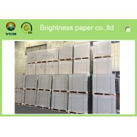 Buy cheap Anti Curl Clay Coated Kraft Paper , Smooth Cardboard Backing Sheets For Present Case from wholesalers