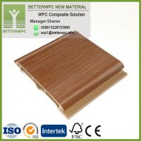 Buy cheap Prefabricated Colored Exterior Wood Composite Wall Building Decoration Board Panels Waterproof Fireproof WPC Wall from wholesalers
