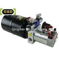 Buy cheap DC 12V 210Bar Horizontal Mounting Hydraulic Power Unit for Sideloader Trucks product