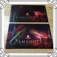 Buy cheap Eco-friendly 3D Lenticular Business Cards 0.6mm PET Pantone Color product