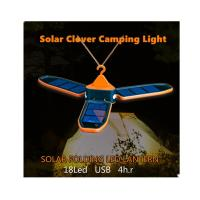 Buy cheap Outdoor Solar Rechargeable Camping Lights Lightweight Easy To Carry from wholesalers