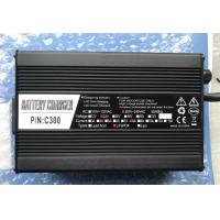Buy cheap 24V LiFePO4 Lithium Battery Charger With Red / Blue LED Index Long Service Life from wholesalers