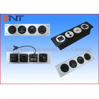 Buy cheap Modular Design Multimedia Wall Socket Plates For Office / Lecture Room from wholesalers