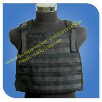 Buy cheap aramid molle level 4 anti bullet military vest from wholesalers