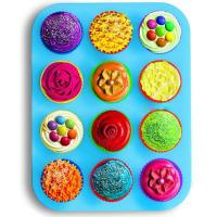 Buy cheap 2016 eco-friendly food grade non-stick 12 cup silicone muffin pan cupcake maker from wholesalers
