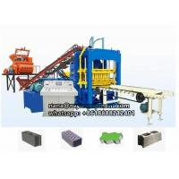 Buy cheap 4-15 fully automatic concrete hollow block color paving block machine from wholesalers