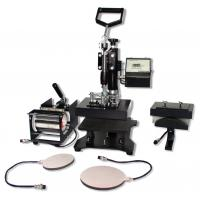 Buy cheap cheap combo heat press transfer machine 5in1 from wholesalers