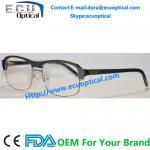 Buy cheap 2014 New Design Model Metal Half Rim Unisex Optical Eyeglasses Frames from wholesalers