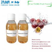 Buy cheap High quality Xi'an TAIMA high concentrate Passion Fruit Flavor liquid for Vape from wholesalers