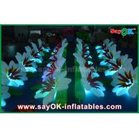 Buy cheap Customized Nylon Cloth Inflatable Lighting Decoration Wedding Flower Chain from wholesalers