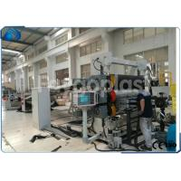Buy cheap PC Hollow Sheet / PET Sheet Extrusion Line , Plastic Board Making Machine High Speed from wholesalers