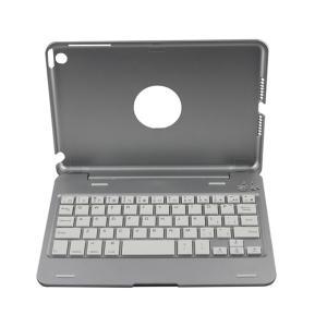 Buy cheap Aluminum Alloy Wireless Flexible iPad Mini Bluetooth Keyboard case product