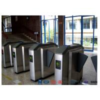 Buy cheap Facial Reader Access Control Flap Barrier Gate Stainless Steel For Entrance from wholesalers