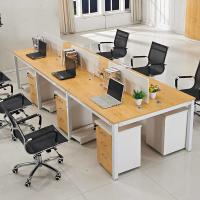 Buy cheap Concise Design Call Center Office Workstations Furniture Melamine Finish from wholesalers